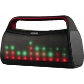 WESDAR K20 BLUETOOTH ΗΧΕΙΟ 6W ΜΕ LED EQUALIZER, ΜΑΥΡΟ