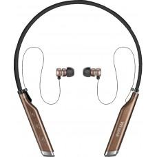 WESDAR BLUETOOTH EARPHONE R23, ΜΑΥΡΟ-ΚΑΦΕ