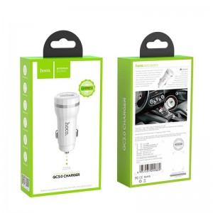 HOCO Z27A SINGLE PORT USB CAR CHARGER, QUICK CHARGE 3.0