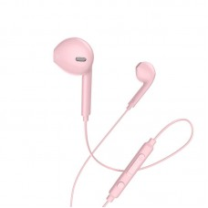 HOCO M55 MEMORY SOUND EARPHONE, ΡΟΖ