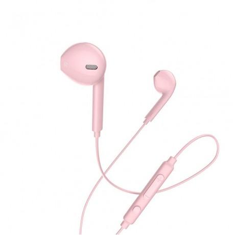 HOCO M55 MEMORY SOUND EARPHONE, ROSE GOLD