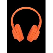DELICATE-AMAZING DM0045 BLUETOOTH HEADPHONES, ORANGE