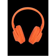 DELICATE-AMAZING DM0045 BLUETOOTH HEADPHONES, ORANGE
