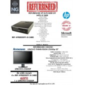 BUNDLE HP ELITE SFF i5 2400 + LENOVO THINKVISION LT2252p 22
