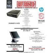 BUNDLE HP COMPAQ PRO 6300 SFF i5 3570 + HP L1940 19