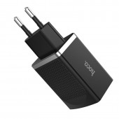 HOCO C42A QUICK CHARGE 3.0 VAST POWER USB CHARGER ΜΑΥΡΟ