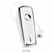 HOCO E38 BUSINESS BLUETOOTH EARPHONE, WHITE