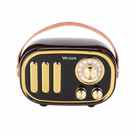 WESDAR K56 RETRO WIRELESS BLUETOOTH SPEAKER