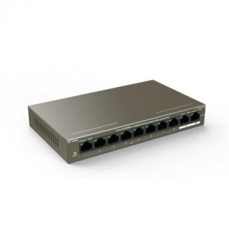 IP-COM 8-Port10/100Mbps+2 Gigabit Desktop Switch With 8-Port PoE