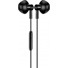 WESDAR R25 IN-EAR HEADPHONES, ΜΑΥΡΟ