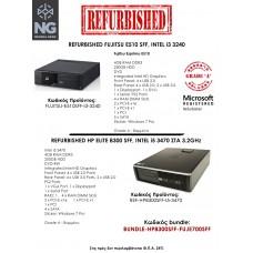 BUNDLE FUJITSU E510 SFF i3 3220  + HP ELITE 8300 SFF i5 3470