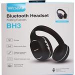 WESDAR BH3 BLUETOOTH HEADPHONES, ΜΑΥΡΟ