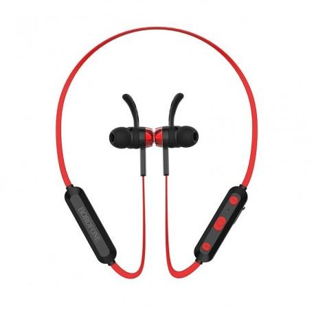 BOROFONE BE24 MAXRUN SPORTS WIRELESS EARPHONE RED