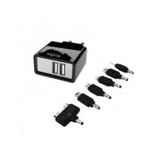 APPROX ΦΟΡΤΙΣΤΗΣ USB 2.1 ΜΕ 6 TIPS ΓΙΑ TABLET KAI SMARTPHONE