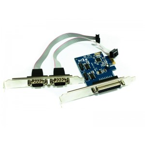 APPROX ΚΑΡΤΑ PCI-E  1 PARALLEL / 2 SERIAL