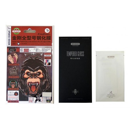 WK KINGKONG FULL TEMPERED GLASS FOR XIAOMI REDMI NOTE 6