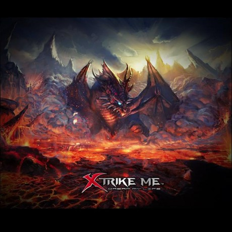 XTRIKE MOUSEPAD MP-002, 320x270 mm